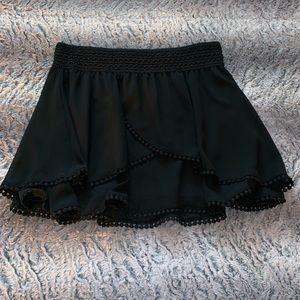 Dresses & Skirts - Adorable Tired Black Skirt